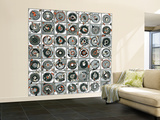 Stereogram Wall Mural – Large by  HR-FM
