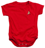 Infant: Star Trek - Enfineering Uniform Infant Onesie
