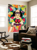 Star of Wander Wall Mural by Diela Maharanie