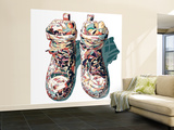Sneaker Wall Mural – Large by  HR-FM