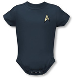 Infant: Star Trek - Science Uniform Infant Onesie