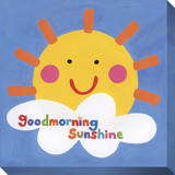 Goodmorning Sunshine Stretched Canvas Print