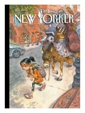 The New Yorker Cover - September 13, 2010 Premium Giclee Print by Peter de Sève