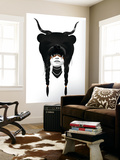 Bear Warrior Wall Mural by Ruben Ireland