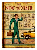 The New Yorker Cover - March 10, 1997 Giclée-Druck von Anita Kunz