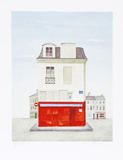 Restaurant au Vieux Paris Limited Edition by Mary Faulconer