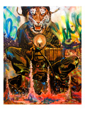 We Are Tigers Giclee Print by Shark Toof