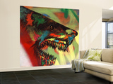 Shark Head Study 1 Wall Mural – Large by Shark Toof