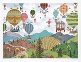 Balloon Trips Collectable Print by Jack Hofflander