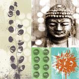 Buddha I Kunstdrucke von Linda Woods