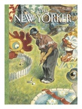 The New Yorker Cover - August 21, 2000 Premium Giclee Print by Peter de Sève