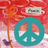 Frieden Poster von Linda Woods