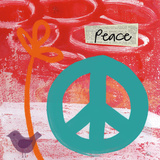 Peace Prints by Linda Woods