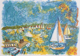 Sail Day Collectable Print by Wayne Ensrud