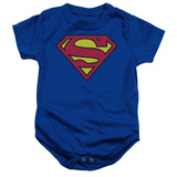 Infant: Superman - Classic Logo Bodystocking til babyer