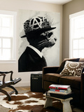 Middle Class Rebel Wall Mural by Hidden Moves