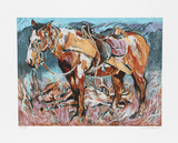 Hunters Horse Limited Edition by Everett Hibbard