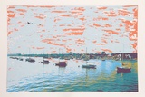 Anchored Flotilla Days Gone By Limited Edition by Max Epstein