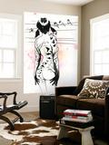 La fille tatouée Art par Lora Zombie