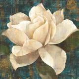 Gardenia Blossom Turquoise Prints by Albena Hristova