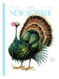 The New Yorker Cover - December 2, 1996 Premium Giclee Print by Peter de Sève