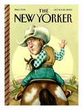 The New Yorker Cover - October 16, 2000 Premium Giclee Print by Anita Kunz
