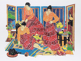 Three Graces Collectable Print by Estelle Ginsburg
