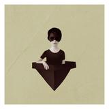 Ceci N'Est Pas Une Bateau Plakat af Ruben Ireland