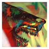 Shark Head Study 1 Poster von Shark Toof