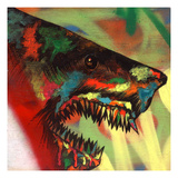 Shark Head Study 1 Giclee Print by Shark Toof