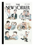 The New Yorker Cover - September 3, 2012 Premium Giclee Print by Barry Blitt