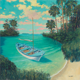 Tarpon Grande Key Affiches par Rick Novak