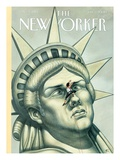 The New Yorker Cover - July 3, 2000 Regular Giclee Print by Anita Kunz