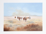 Bringing in the Herd Limited Edition by Gwendolyn Branstetter