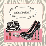 Animal Instinct Print by Fabiano Marco
