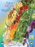 Veggie Rainbow Poster Posters