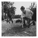 GQ - June 1967 Regular Photographic Print von Leonard Nones