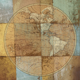 Single Map Prints by Elizabeth Medley