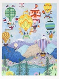 Rocky Mountain Balloons Limited Edition by Jack Hofflander
