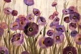 Silvia Vassileva - Pink and Purple Flowers - Reprodüksiyon