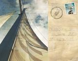 Voyage Postcard II Posters by Susan Bryant