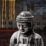 Urban Buddha III Poster von Linda Woods