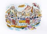 Salzburg Limited Edition by Wayne Ensrud