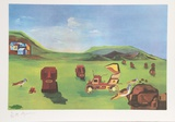 Easter Island II Collectable Print by Aymon de Roussy de Sales