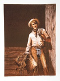 The Cowboy Collectable Print by John Duillo