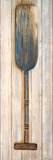 Blue Paddle Print by Gina Ritter
