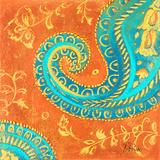 Spring Paisley II Print by Patricia Quintero-Pinto