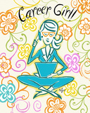 Career Girl Posters by Rebecca Lyon