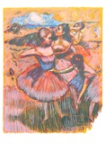 Homage to Degas Collectable Print by Wayne Ensrud