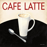 Cafe Moderne I Poster von Marco Fabiano